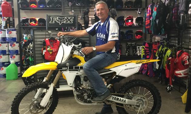 Paul Kramer, owner of Ghostrider Motorsports in Fernie, stocks power toys for all seasons.