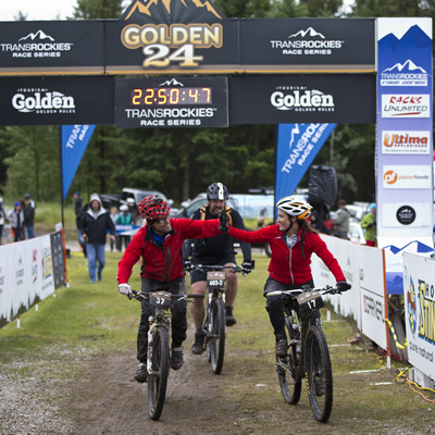 The first Golden 24 bike race took place on the 2016 May long weekend, with 400 riders participating.