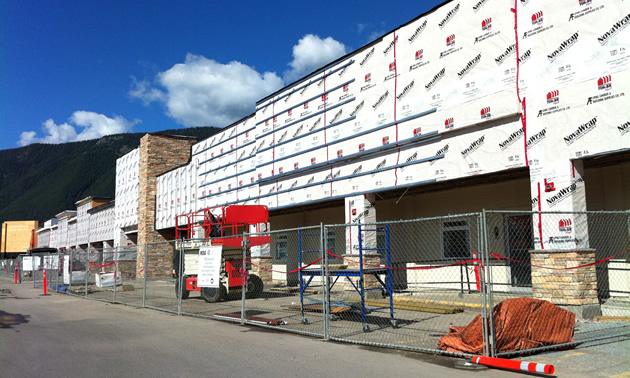 Greenwood Mall in Sparwood getting facelift