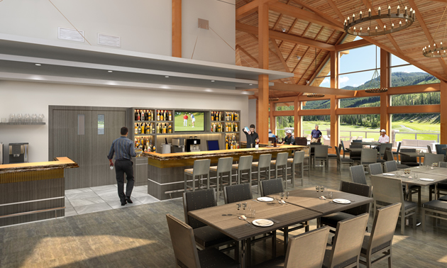 Greywolf golf course has a new clubhouse kootenay business