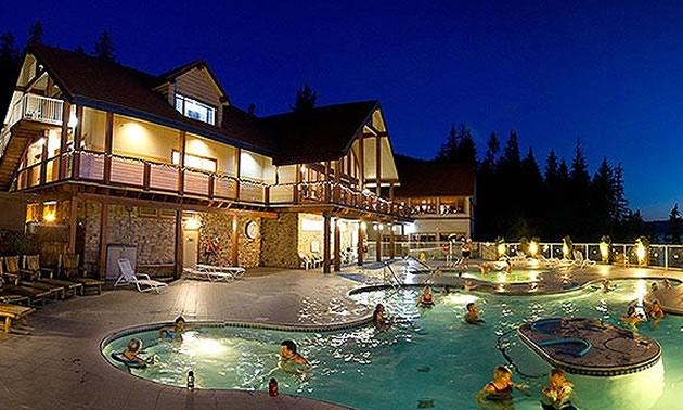 Halcyon Hot Springs.