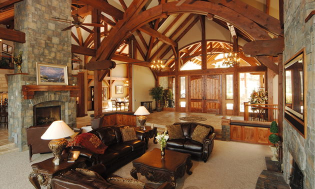 Hamill Creek Timber Homes Are Famous In Architectural