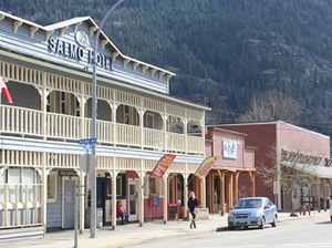 Historic Salmo Hotel, Salmo, B.C.