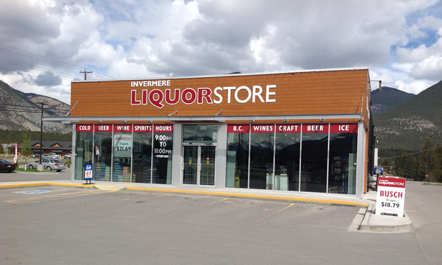 The Invermere Liquor Store has now been open for one year.