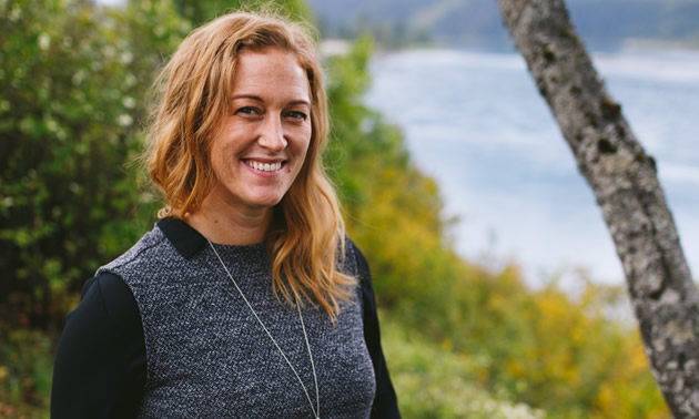 Jana Thompson, executive director of the Revelstoke Chamber of Commerce, finds her job exciting, satisfying and fun.