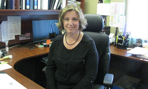 Jodi Gravelle is the chief operating officer for the ?aq?am Community near Cranbrook, B.C.