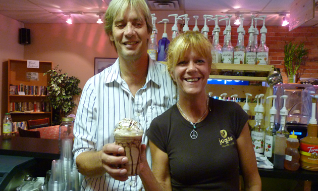 Owners of Jogas, Roger and Donna Soviskov, put customer service at the forefront.