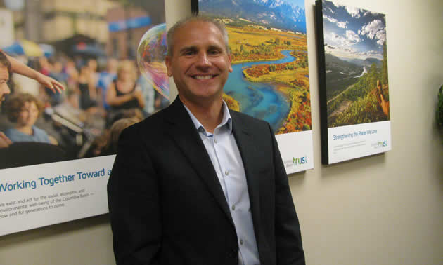 Johnny Strilaeff is the president and CEO of Columbia Basin Trust, and acting president and CEO of Columbia Power Corporation.