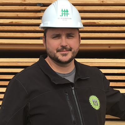 Justin Storm became general manager of J.H. Huscroft Ltd. in 2013, at the age of 30.
