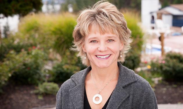 Karen Coté, director of finance for the District of Invermere, has worked for the District for 28 years.