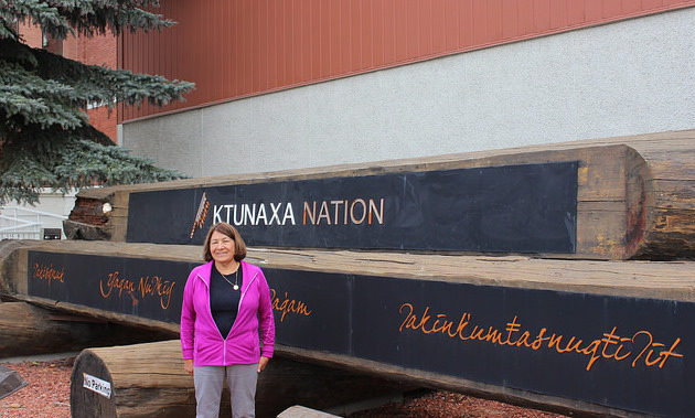 Ktunaxa Nation Council chair Kathryn Teneese.