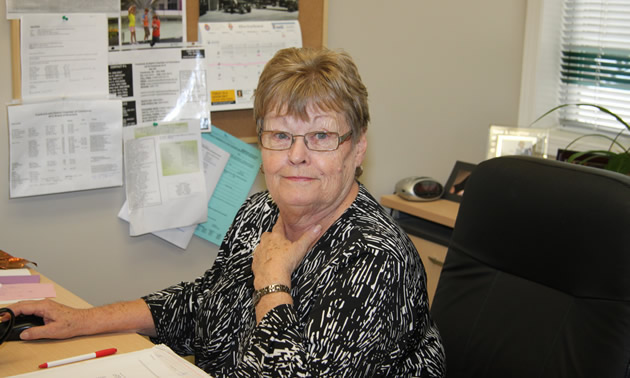 Karin Penner—retired Cranbrook Chamber of Commerce manager.