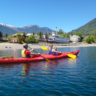 Quiet, beautiful Kaslo, B.C., is a gem set on the west shore of Kootenay Lake.