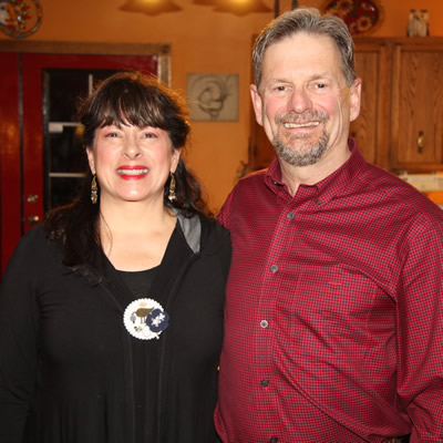 Kathy and Chris Sykes received the 2017 Business Person of the Year Award from the Castlegar & District Chamber of Commerce.