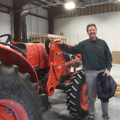 Darrell Kemle is the second-generation owner of Kemlee Equipment in Creston.