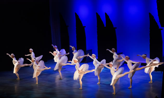 Ballet Jorgen presented Swan Lake last February; the ballet company returns February 21, 2018, to perform Anastasia.