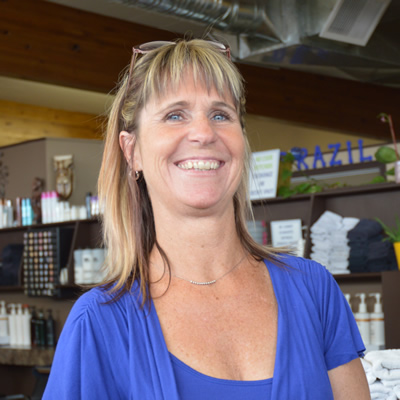 Seana Coolbaugh is the owner-operator of Koko Beach Tanning & Hair Salon in Cranbrook, B.C.