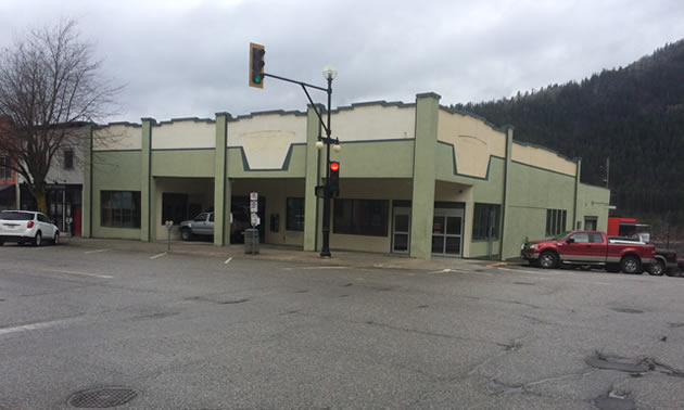 The former Kootenay Co-op building in Nelson.