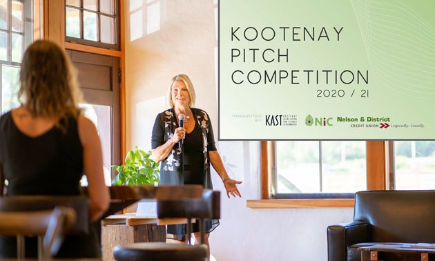 Kootenay Pitch Competition graphic.