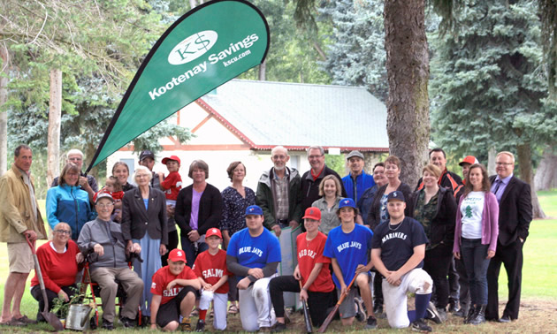 Group of West Kootenay grant recipients.