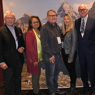 Pictured left to right:  Douglas McIntosh, Janice Alpine, Mike McPhee, Charmaine Richter, Barry Zwueste, Mike Smith, Andrea Tubbs  Absent:  Tom Rosner, Tyler Beckley