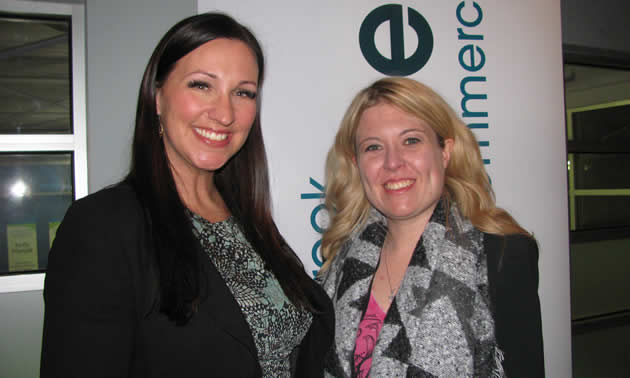Kristin Parsons and Michelle Rempel