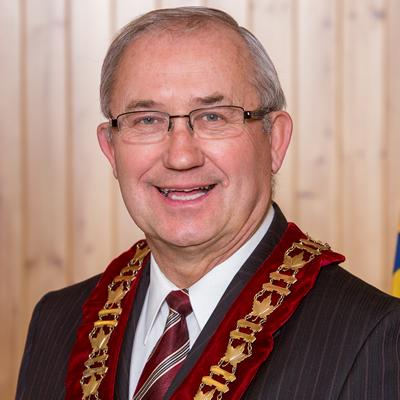 Lawrence Chernoff began his fourth term as mayor of Castlegar, B.C., in December 2014.