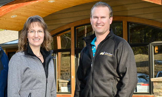 Leanne and Chad Jensen are continuing the work begun by their father, Rick, in the New Dawn Group of Companies.