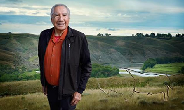 Dr. Leroy Little Bear, founding director of Harvard University's Native American Program.