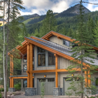 Photo of the McDonald residence at Kicking Horse Mountain Resort