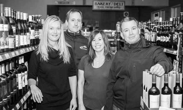 (L to R) Angelina, Ryan, Lori and Wayne: the Haynes family of southeastern B.C.