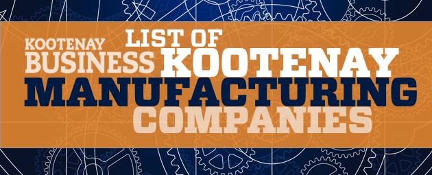 Kootenay Manufacturers | Kootenay Business