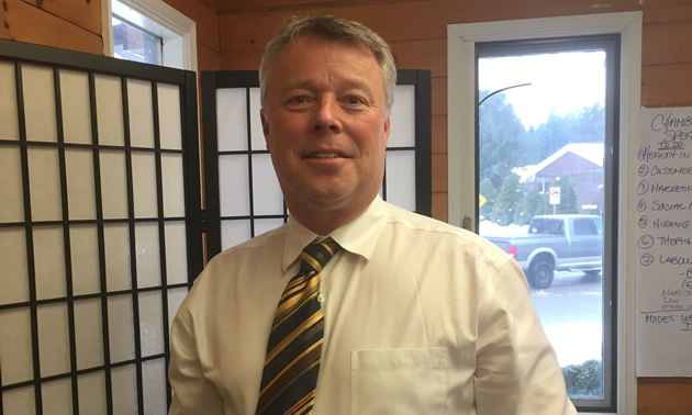 Mark Laver is the economic development manager in Castlegar, B.C.