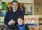 Photo of David Stokes and Dana Tippe