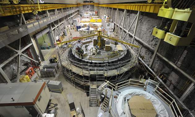 Mica Dam At Full Power Kootenay Business