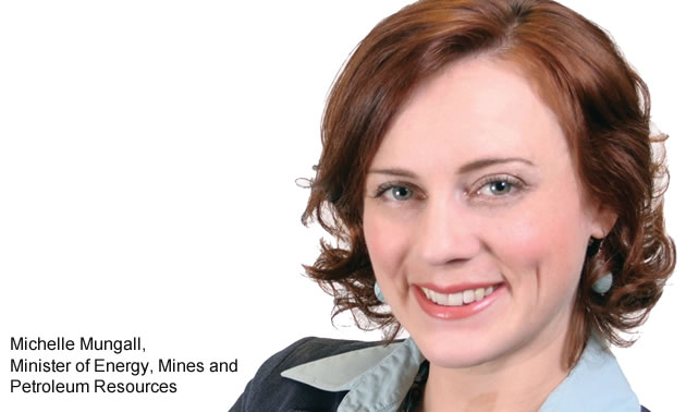 Michelle Mungall, Minister of Energy, Mines and Petroleum Resources.