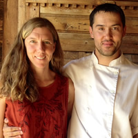 Michelle and Nils Fuhge, owners of the Old Bauernhaus restaurant in Kimberley, B.C.