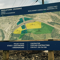 MiddleTown Crossing signage