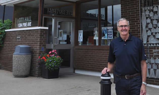 Mike Martin, mayor of Trail, B.C.