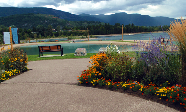 The Millennium Park Natural Outdoor Swimming Ponds project in Castlegar, B.C.