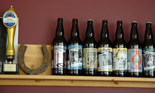 Mt. Begbie beers.