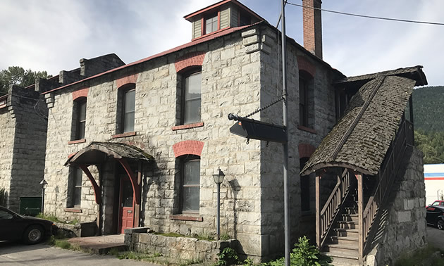 Built in 1910, the Nelson Coke and Gas Works building helped establish the industrial area now known as Railtown in the young community of Nelson.