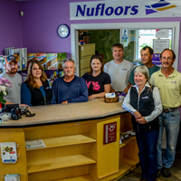 Staff and owners of Nufloors Creston