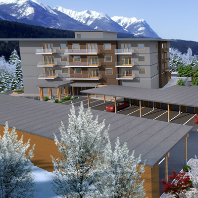 Artist's rendition of Oso building development in Golden.