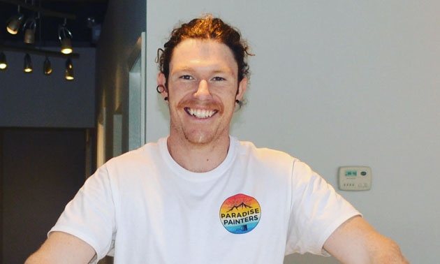 Joel Godbee, smiling into camera.