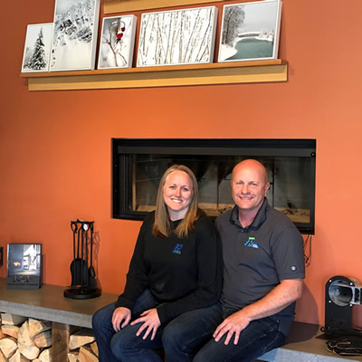 Monica and Doug Parkinson, owners of Parky's Heating in Golden, B.C.