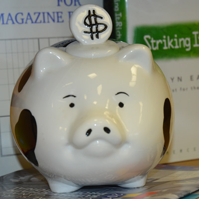 Financial security begins with some basic steps, like filling your piggybank.