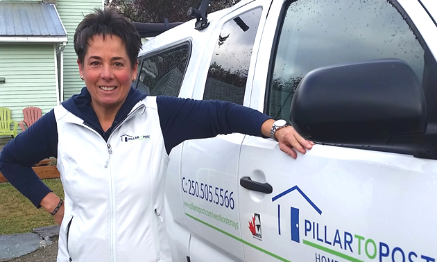 Sandy Byers of Pillar to Post Home Inspectiors in Nelson, B.C.