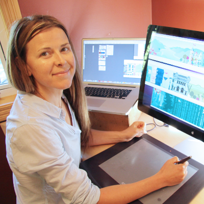 Nichola Lytle won a 2016 Best of Business Award from Kootenay Business magazine in the Graphic Designer category. She works out of her Nelson office.