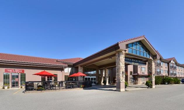 The Prestige Rocky Mountain Resort in Cranbrook.